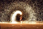 Firemen show desert safari
