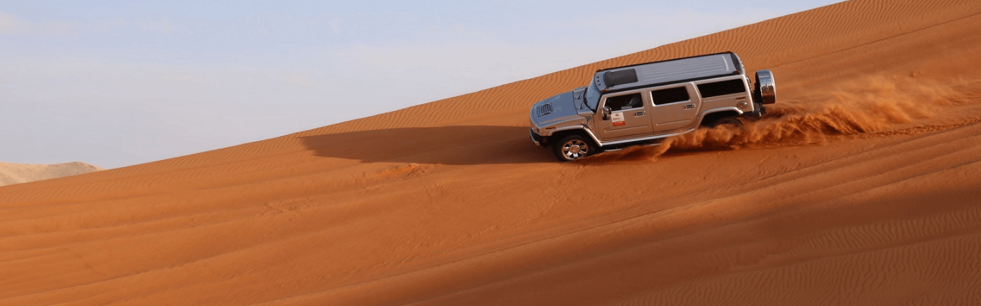 Hummer Desert Safari Tour in Arabian Desert – Dune Bashing