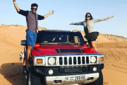 Hummer Desert Safari With Live BBQ Dinner