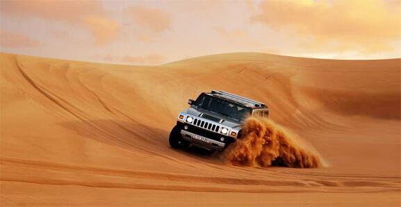 Hummer Dubai Desert Safari Tour