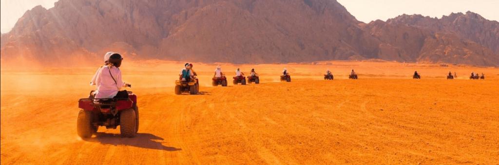 Luxury Quad Bike Desert Safari Tour