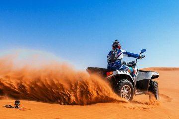 Best Quad Bike Desert Safari Tour Dubai