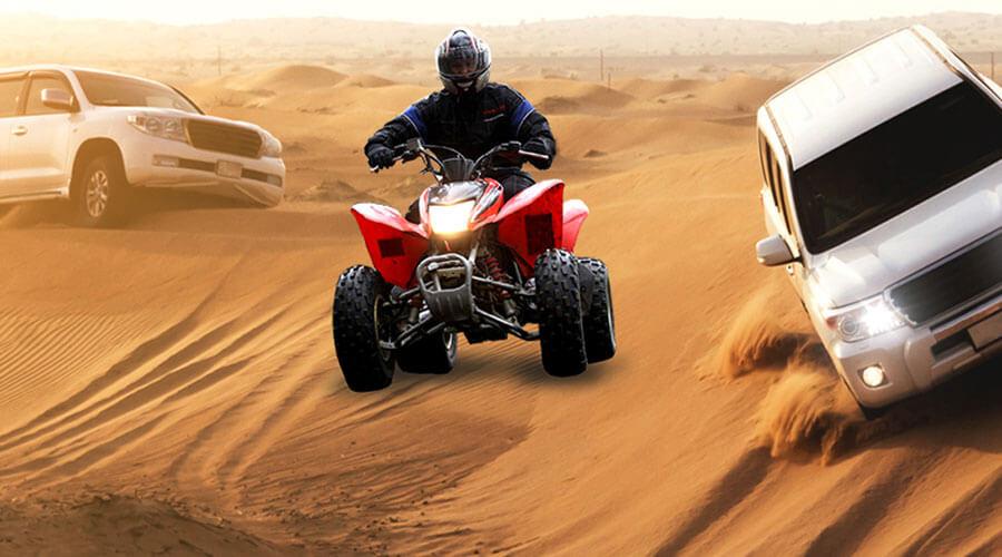 Quad Bike Desert Safari With Dune Bashing Special Tour