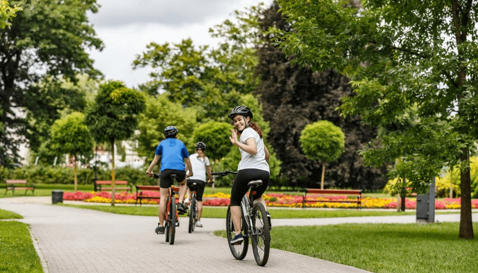 Bike Ride Creek Park Dubai Cycling