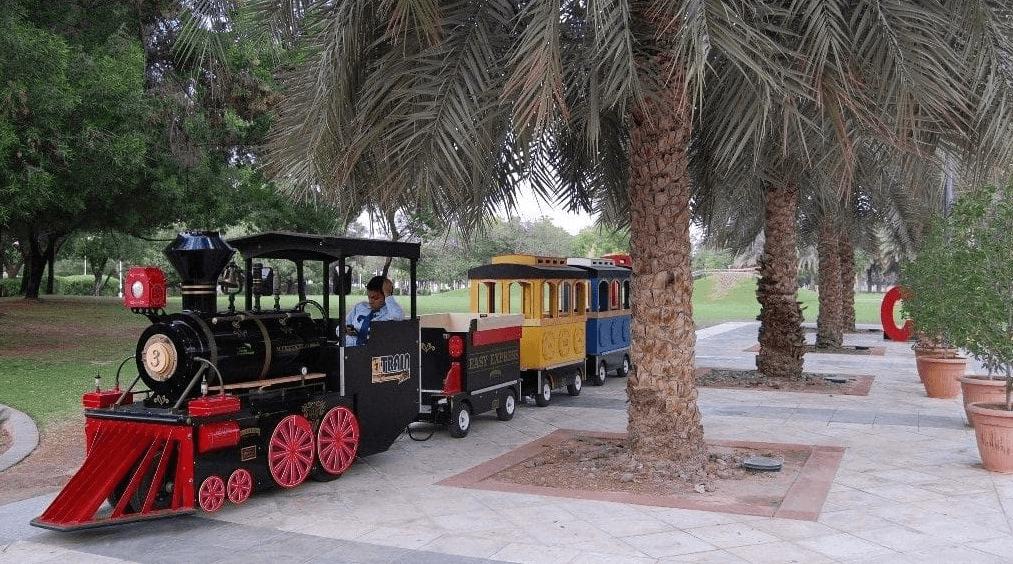 Mini Train Creek Park Dubai
