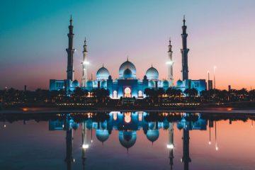 Abu Dhabi City Sheikh Zayed Mosque