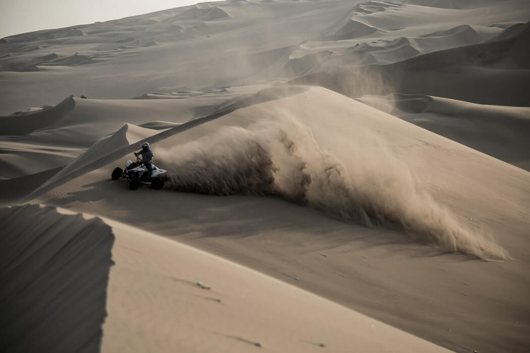 Quad Bike Desert Safari Ride