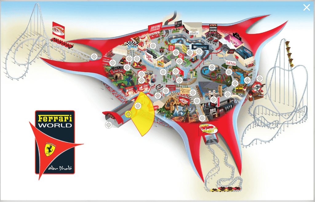 Ferari World Tour Abu Dhabi UAE